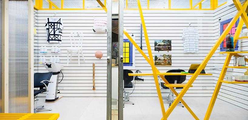 The DKUK salon by Sam Jacob Studio
