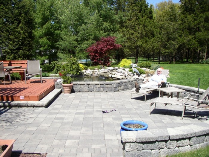 Outdoor living space in Old Tappan
