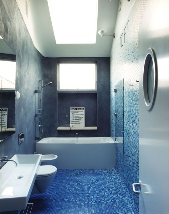 brown bathroom ideas bright blue and how to light your pinterest