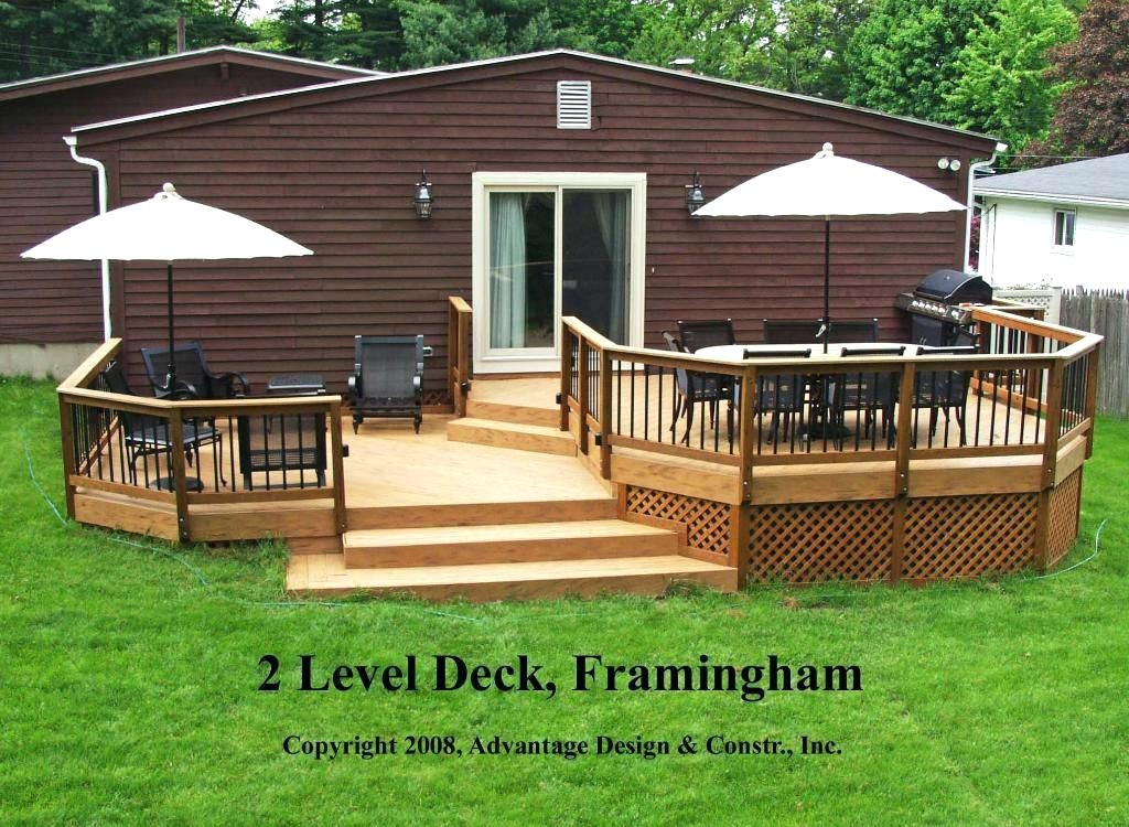 two story deck ideas second story deck ideas best of two level deck designs  two level